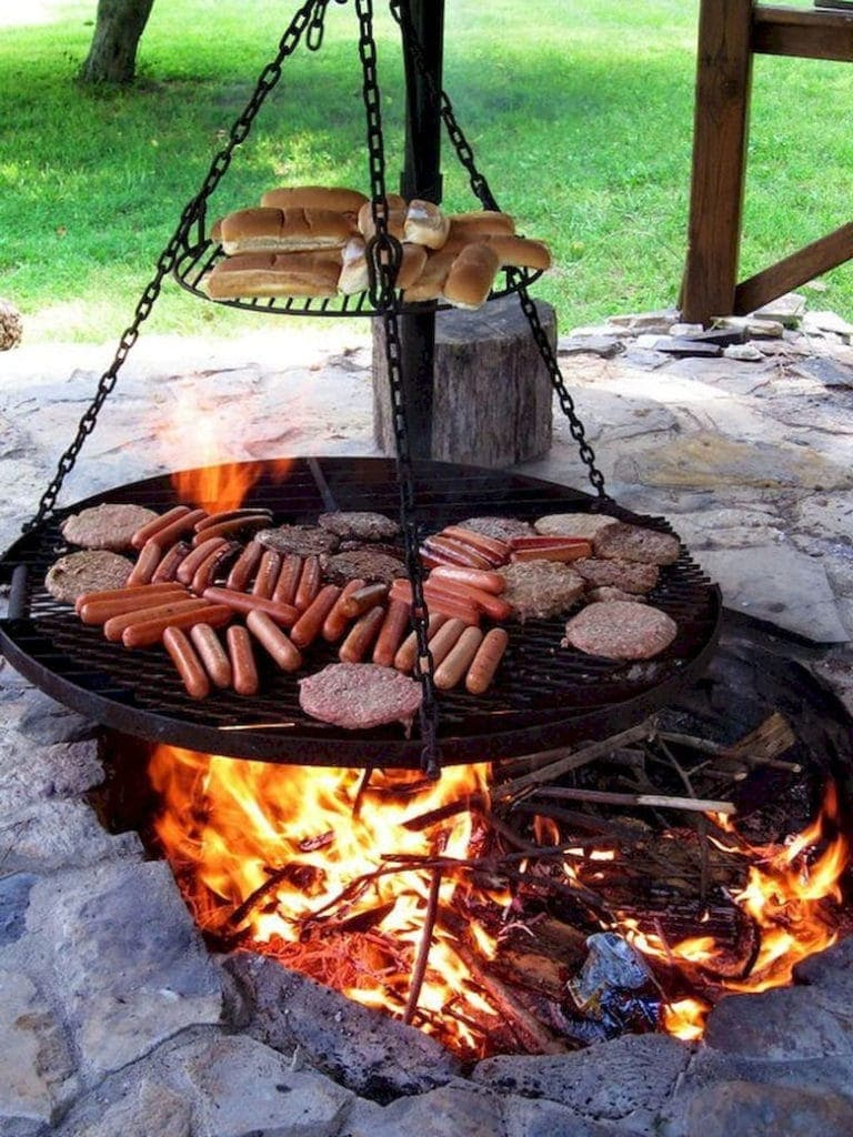 Image of: Best Fire Pit Grills Of 2020 Ultimate Buyer S Guide